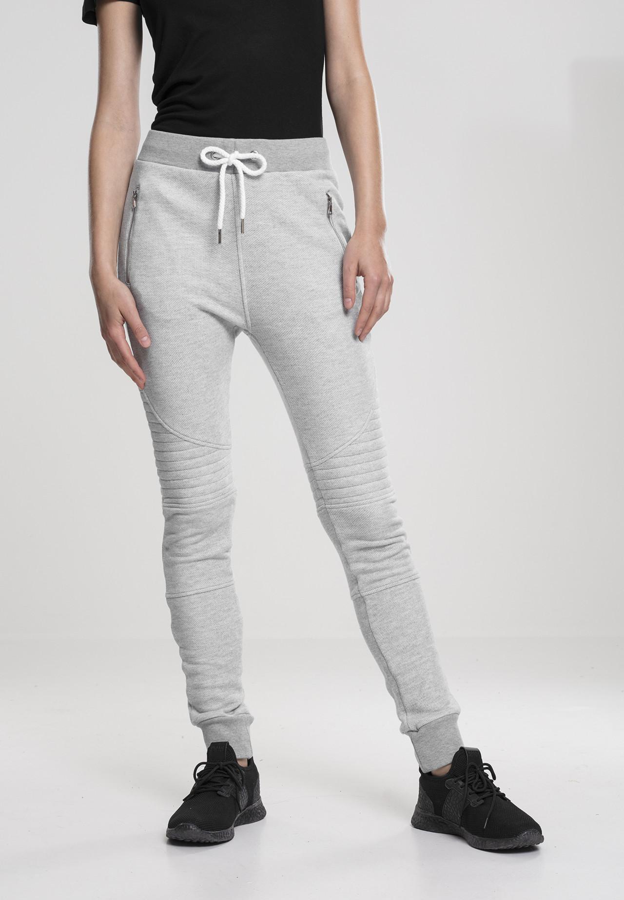 Image of   Urban Classics Dame Biker Sweatpants (Grå, L)