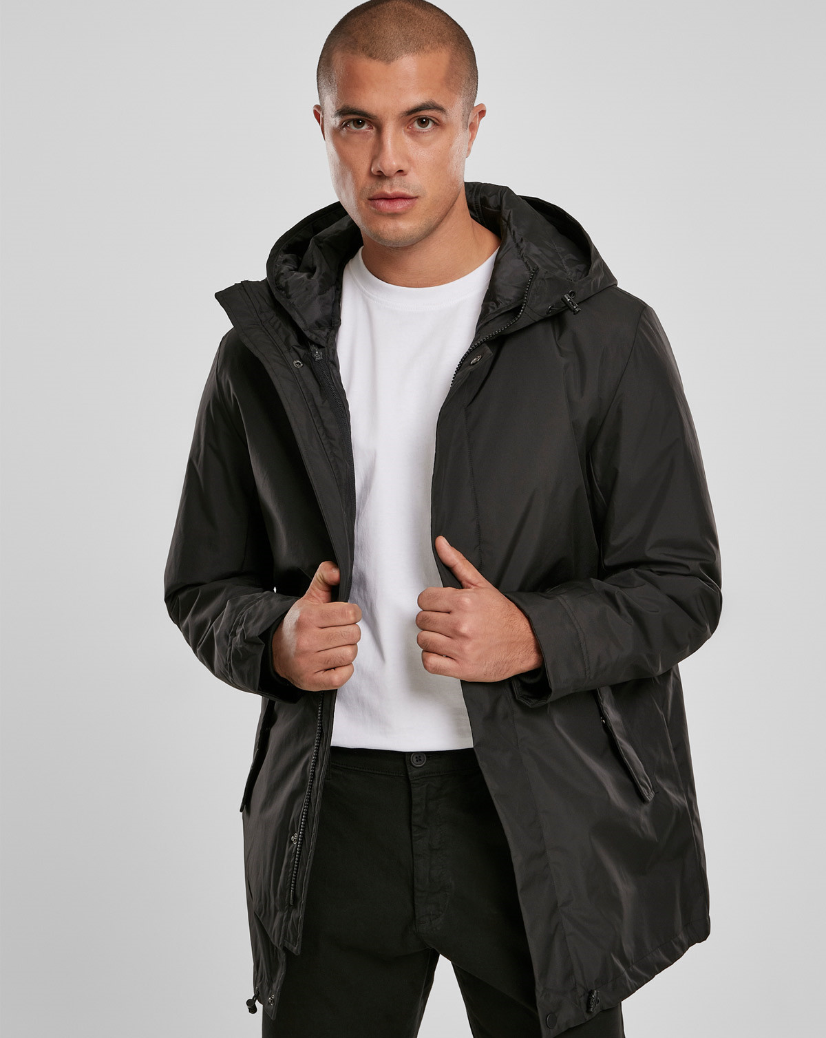 Best pris på Urban Classics Hooded Oversized Bomber Jacket