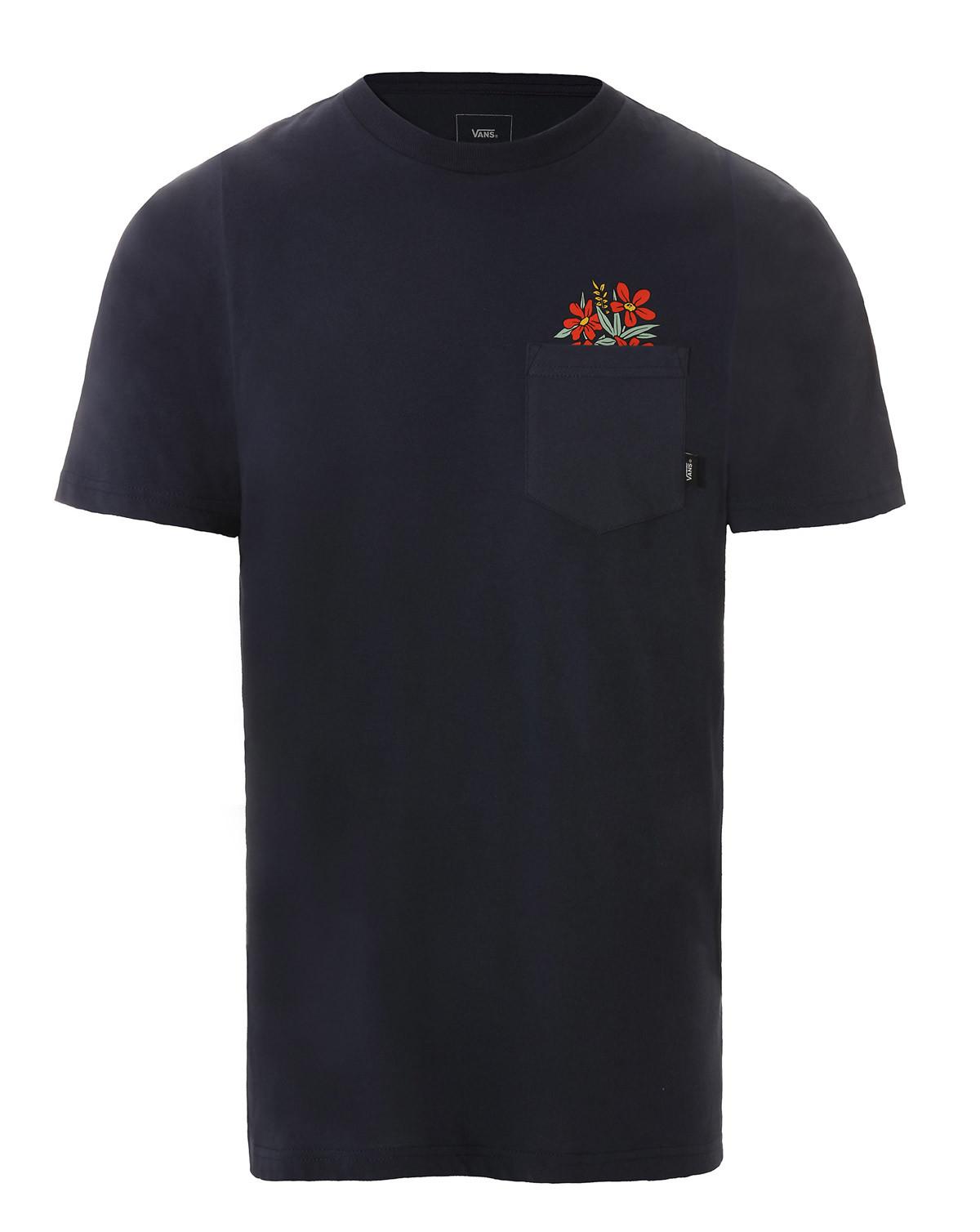 VANS Death Pocket T-shirt (Navy, M)