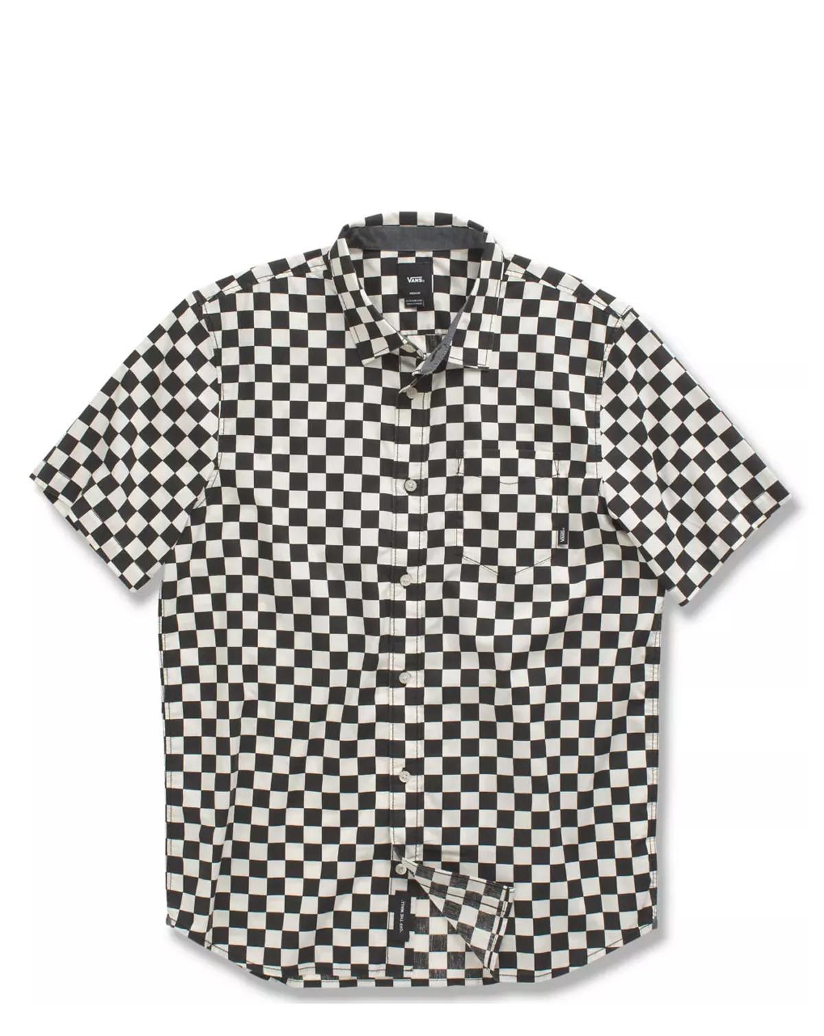 VANS Mn Cypress Checker (Sort / Hvid, L)