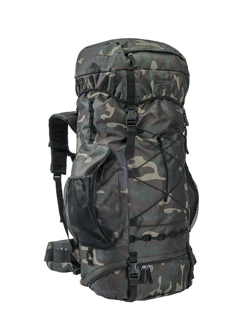 Image of   Brandit Aviator Rygsæk - 100 liter (Black Camo, One Size)