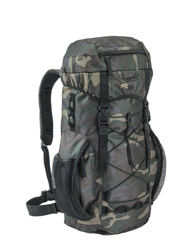 Image of   Brandit Aviator Rygsæk - 35 liter (Black Camo, One Size)
