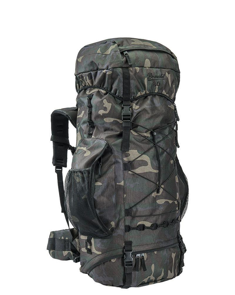 Image of   Brandit Aviator Rygsæk - 80 liter (Black Camo, One Size)