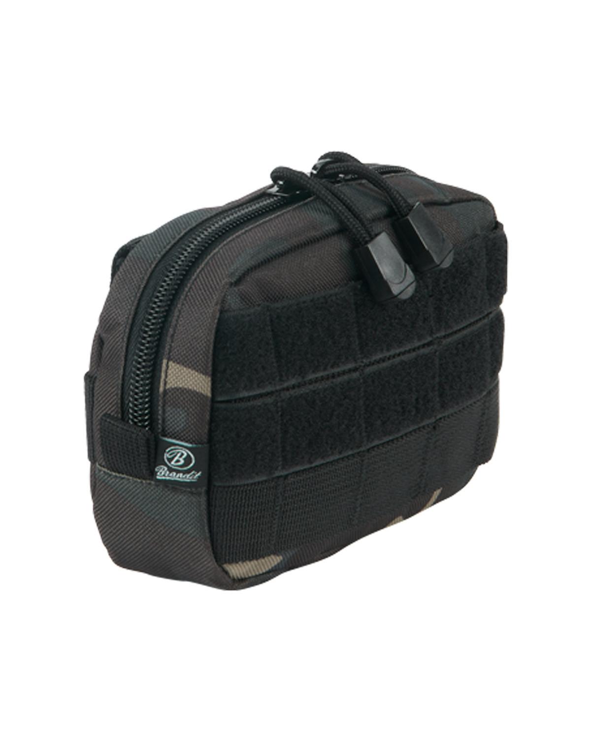 Brandit MOLLE Compact Pouch (Dark Camo, One Size)