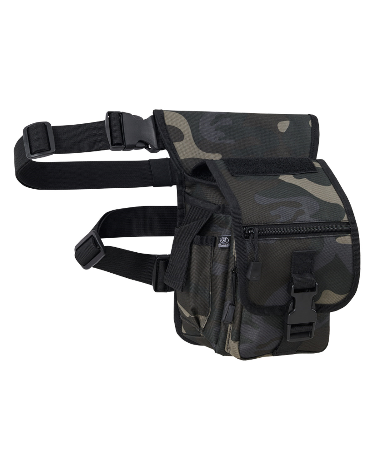Brandit Side Kick Bag (Dark Camo, One Size)