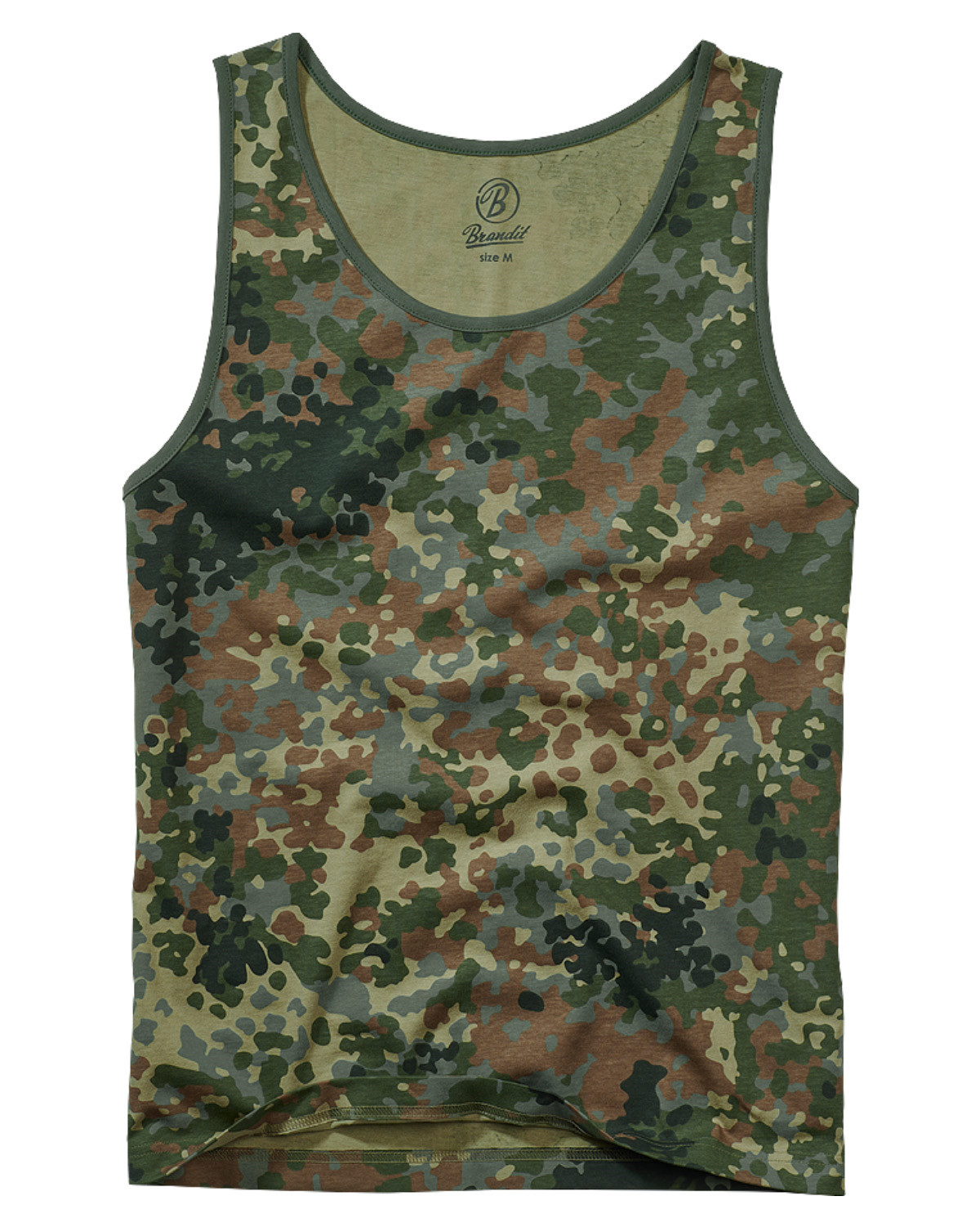 Image of   Brandit Tank Top (Flecktarn, 5XL)