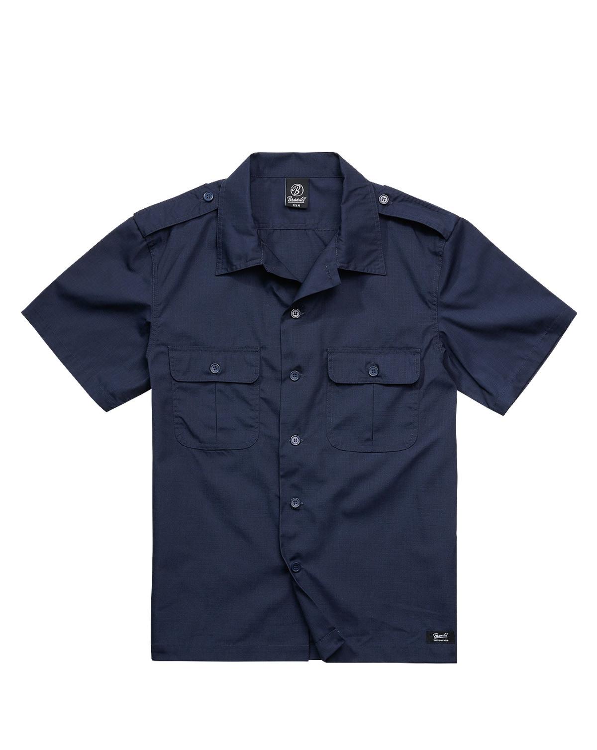 Brandit U.S. Army Shirt Ripstop (Navy, XL)