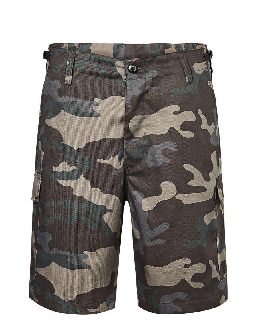 Brandit US Ranger Shorts (Dark Camo, XL)