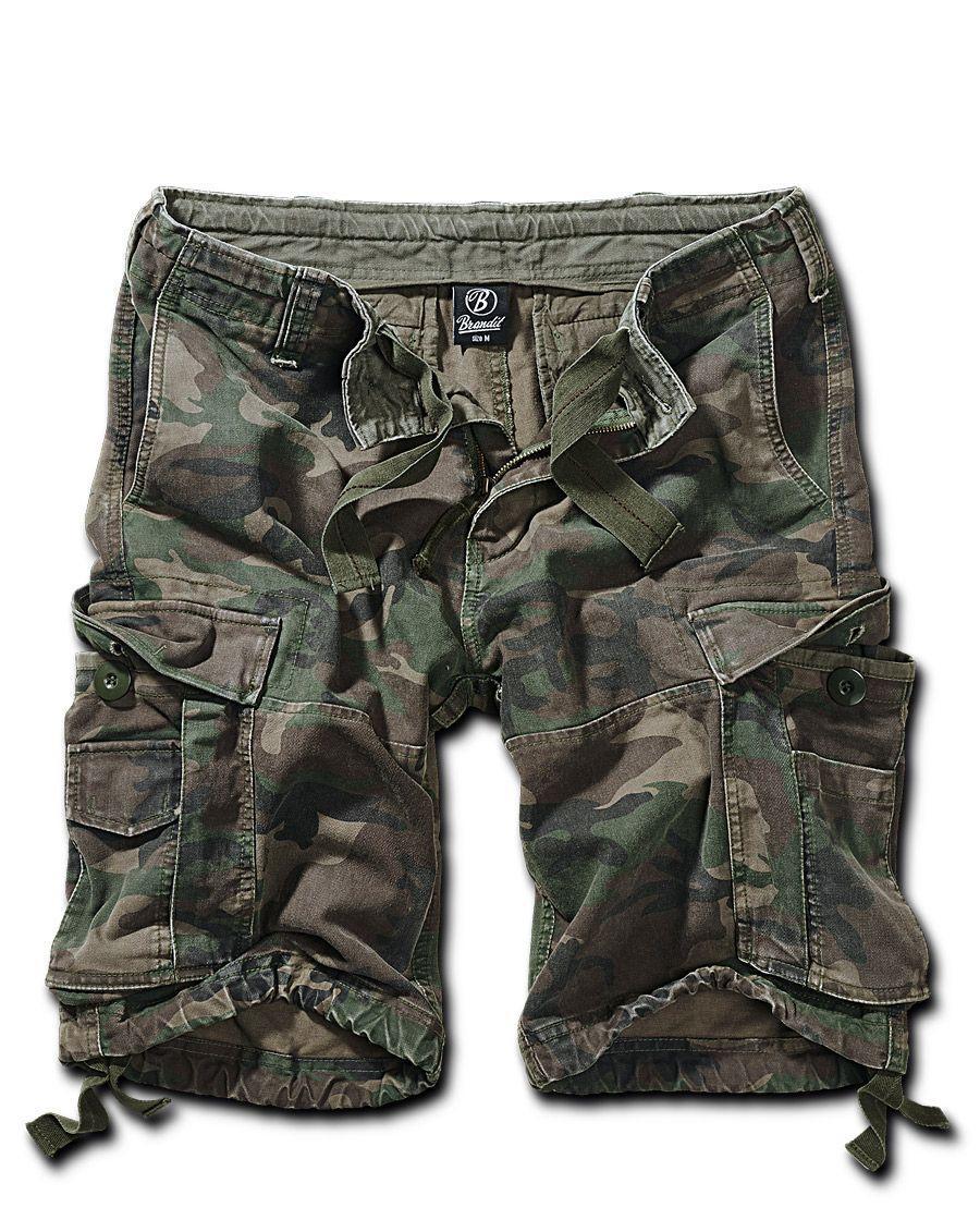 Brandit Vintage Shorts (Woodland, 7XL)