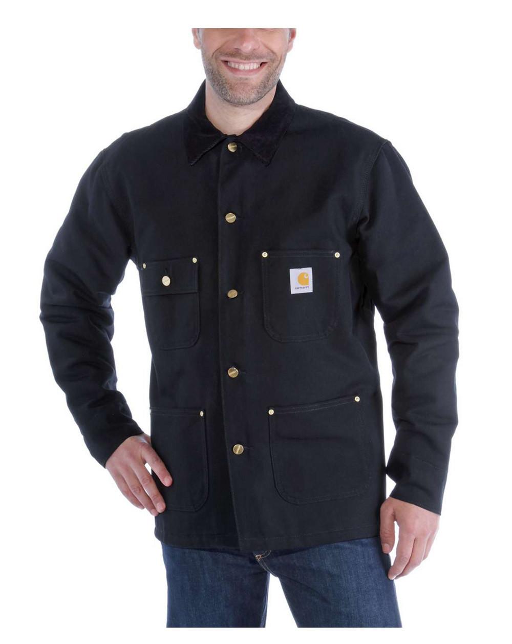 Image of   Carhartt Chore Coat (Sort, 2XL)