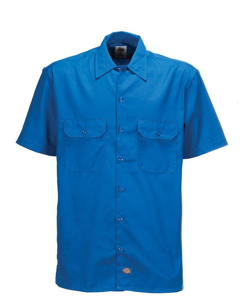 Dickies 1574 Original Short Sleeve Work Shirt (Kungsblå, XL)