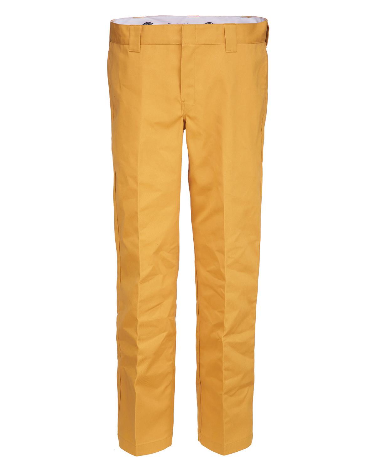 Dickies 873 Slim Straight Work Pant (Dijon, W42 / L32)