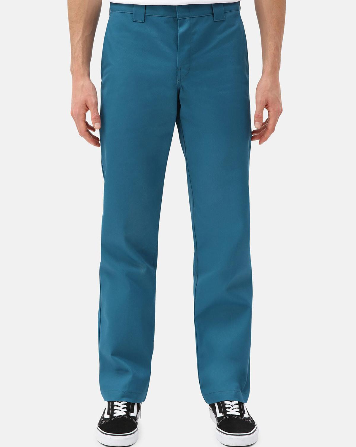 Dickies 873 Slim Straight Work Pant (Koral, W40 / L34)