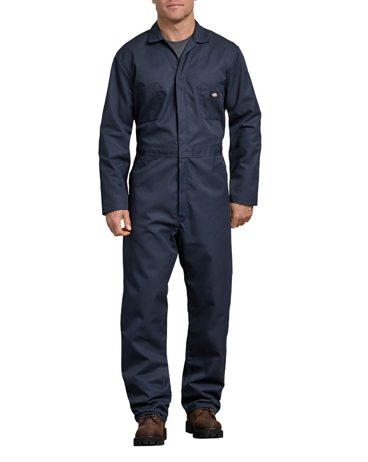 Dickies Blended Coverall (Dark Navy, XL)