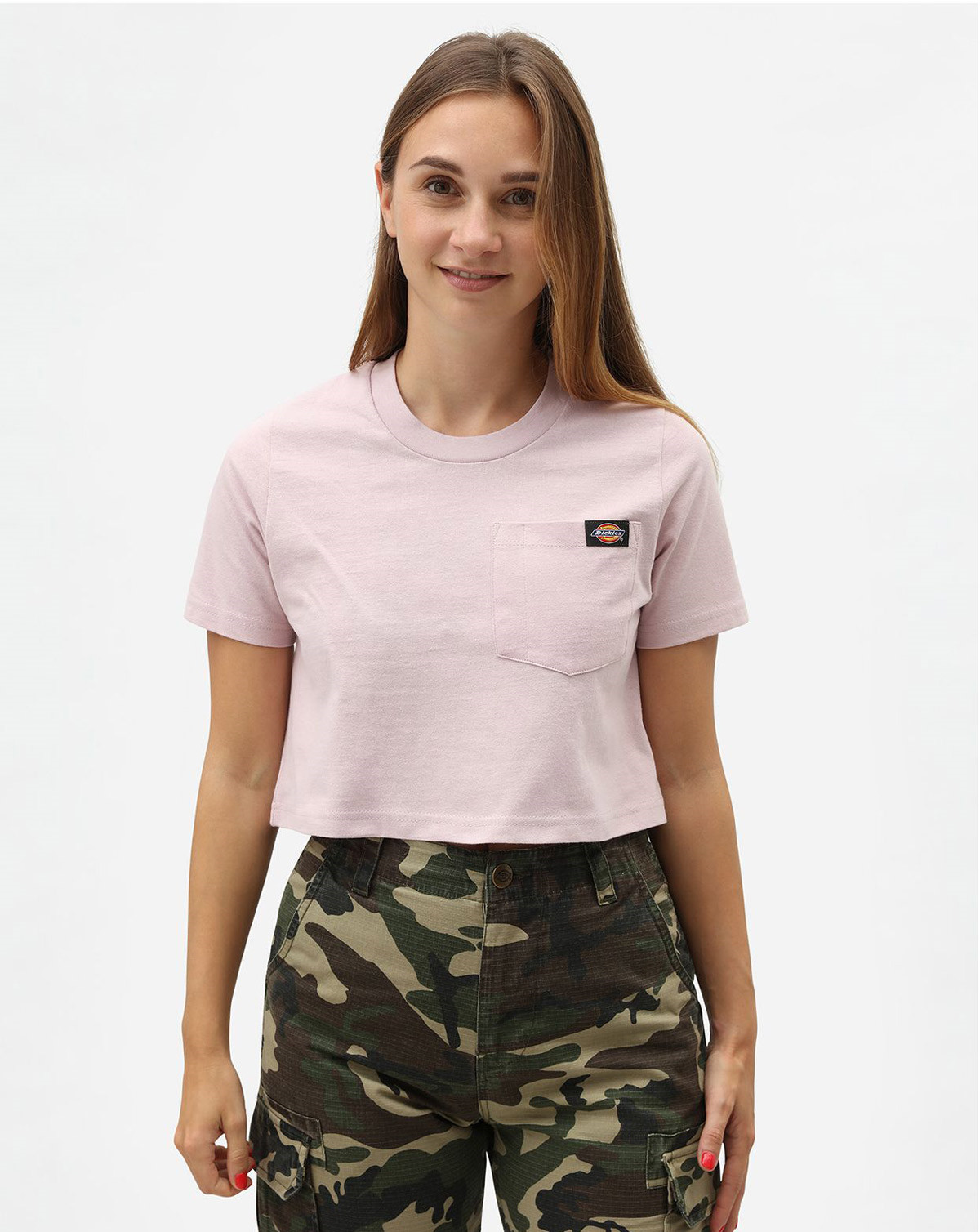 Dickies Ellenwood Women T-shirt (Lila, XXS)