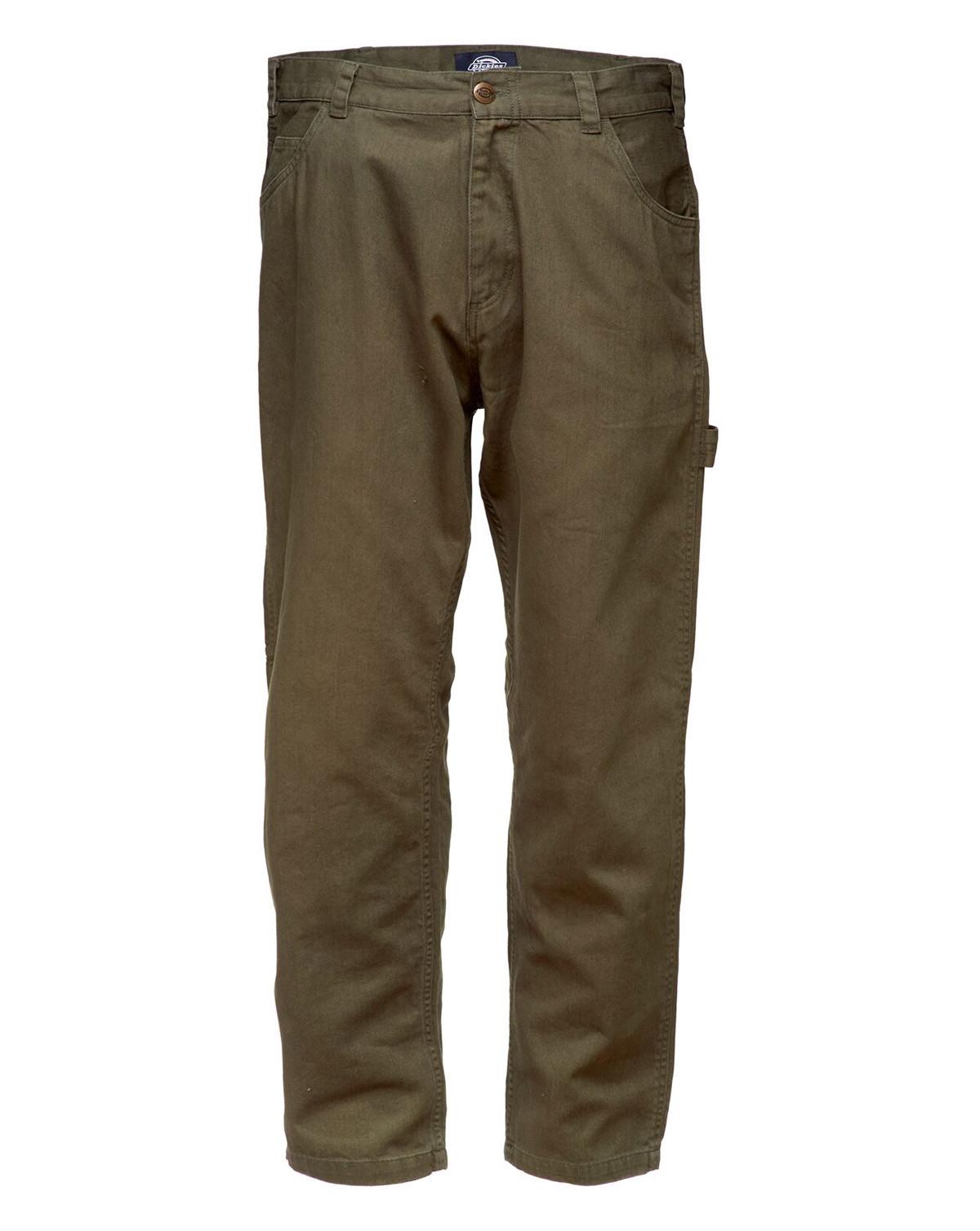 Dickies Fairdale Carpenter Pant (Dark Olive, W40 / L34)