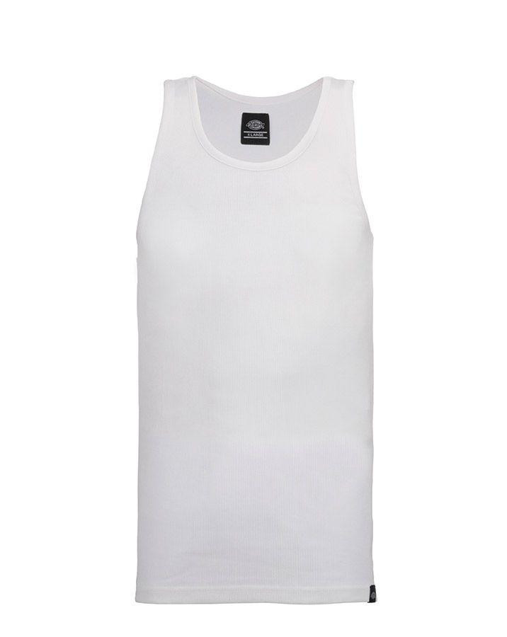Dickies Fitted Tank tops - 3-Pack (White, XS)