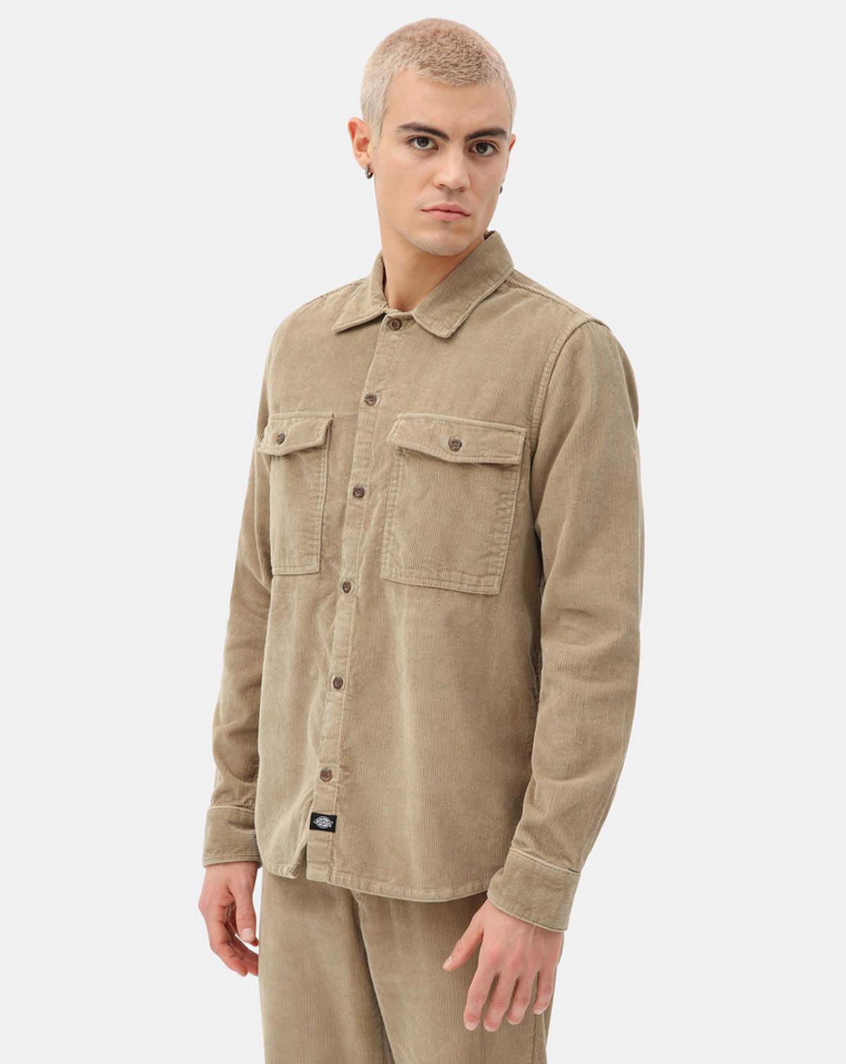 Dickies Fort Polk Shirt (Khaki, XL)