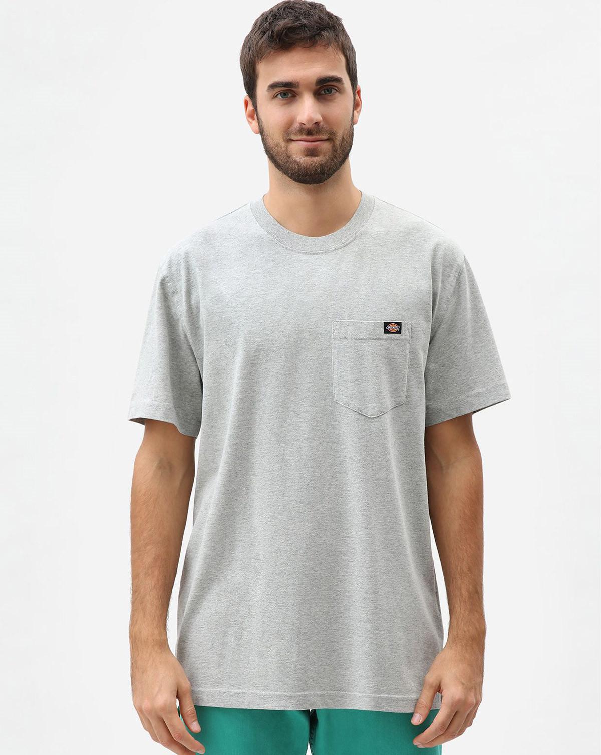 Dickies Kortärmad Heavy Weight T-shirt (Dark Grey, M)