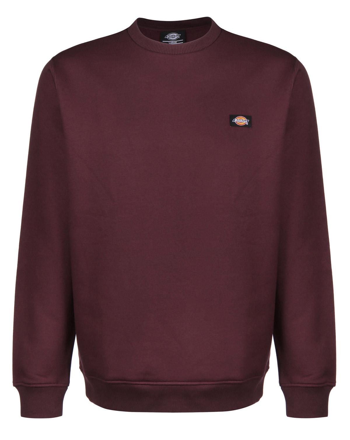 Dickies New Jersey Sweatshirt (Maroon, XS)