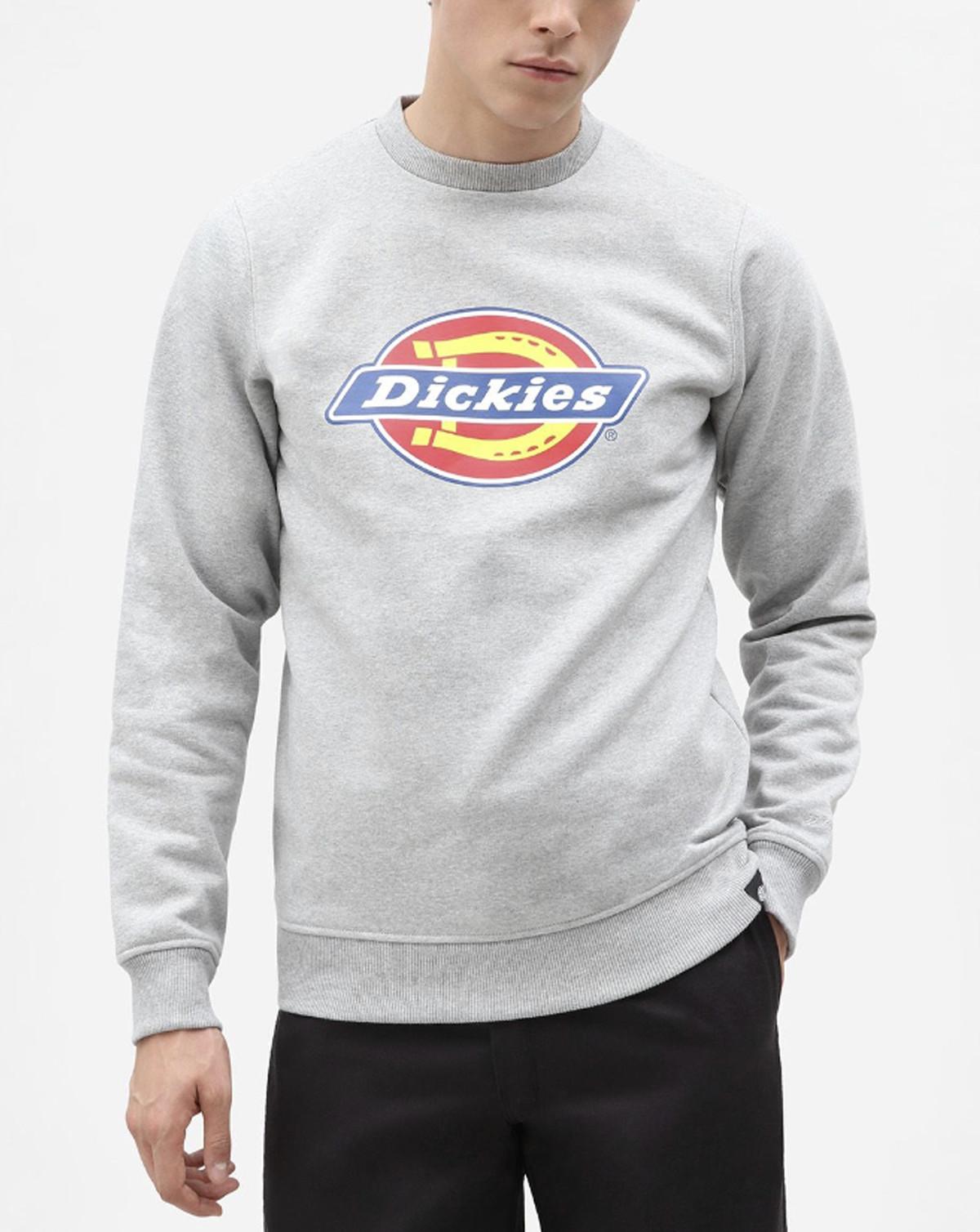 DICKIES Pittsburgh Sweatshirt (Gråmelerad, XS)
