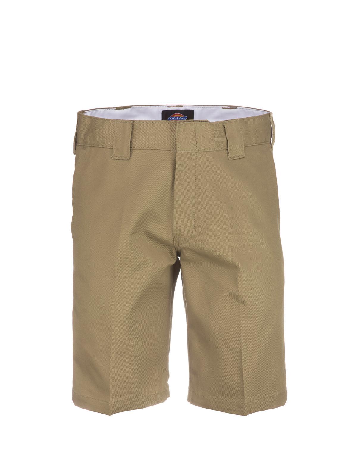 """Dickies Shorts - Work Short, 11"""" Slim Straight (Khaki, W40)"""