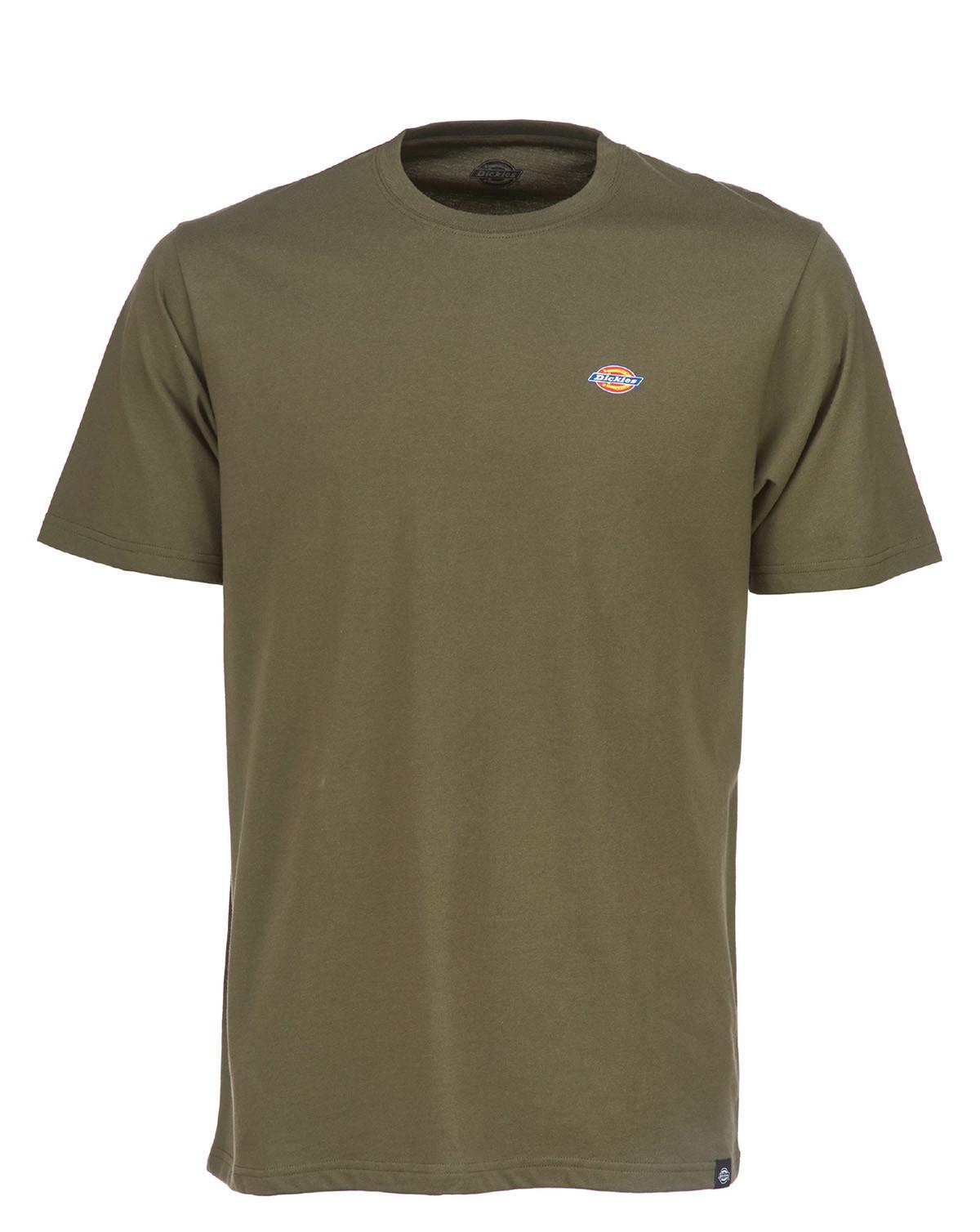 Dickies Stockdale T-shirt (Dark Olive, XXS)