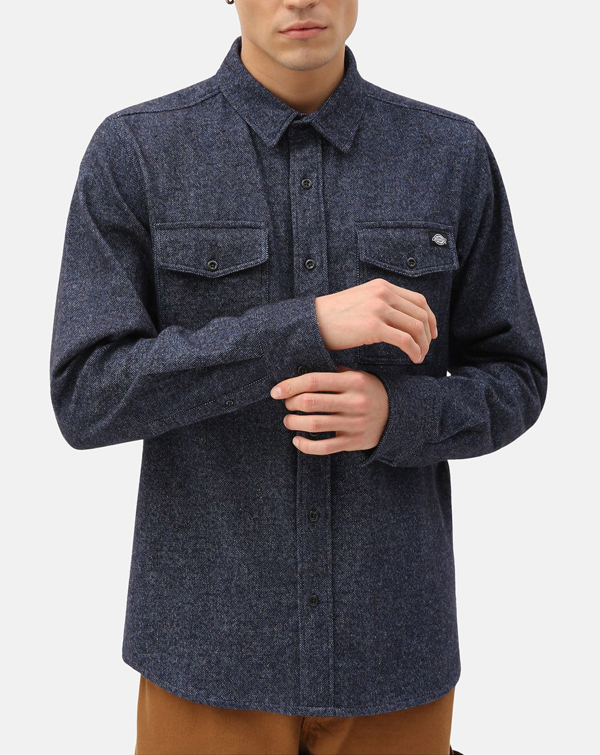 Dickies Woodmere Shirt (Dark Navy, XL)