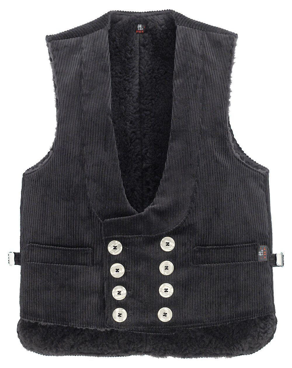 Image of   FHB Naver Vest - Thomas (Sort, W50/L36 - 66)