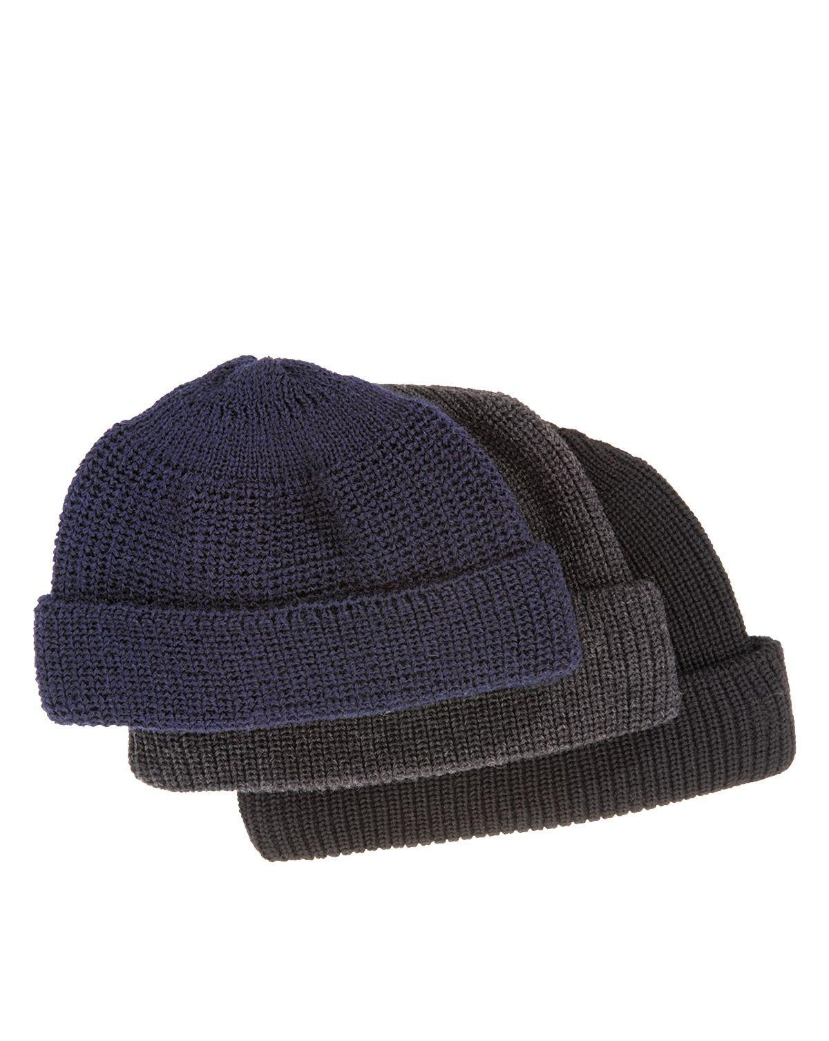 Image of   FHB Uld hat - Johann (Navy, One Size)