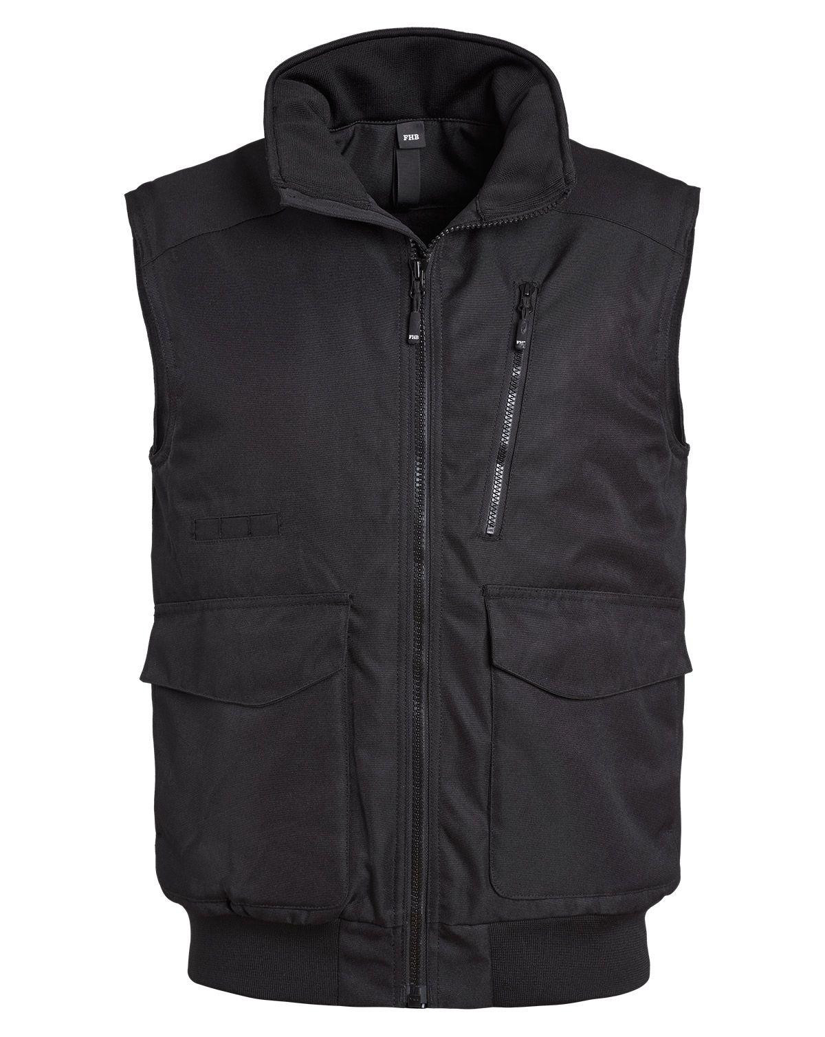 Image of   FHB Vest - Guido (Sort, 2XL)