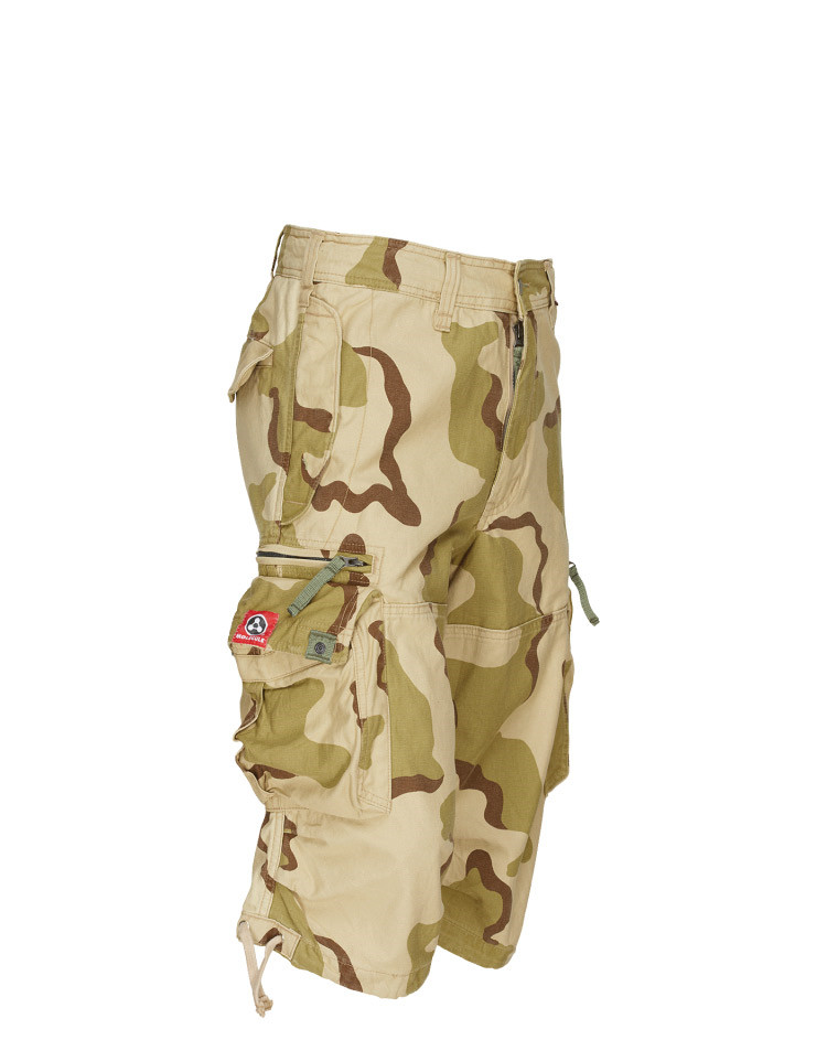Molecule Knickers Shorts - Drawn Togethers (Desert Camo, Small / W27-31)