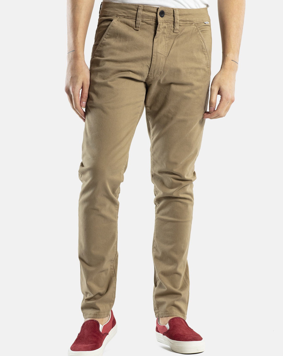 Reell Flex Tapered Chino (Dark Sand, W40 / L34)