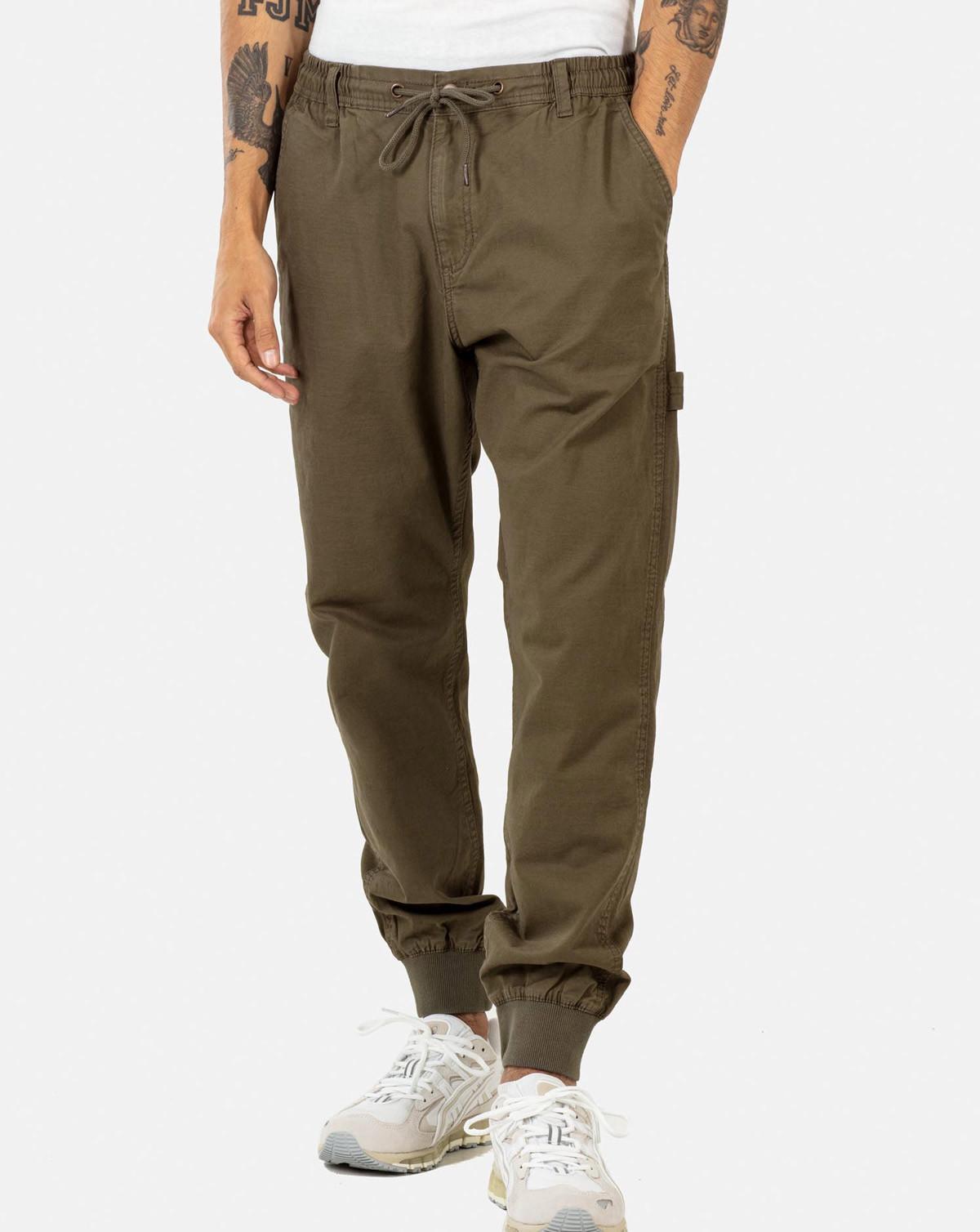 Reell Jeans Reflex Rib Worker LC (Clay Olive, W28 / L32)