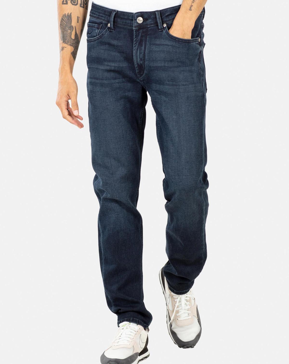 Reell Spider Jeans (Dark Blue Overdyed, W36 / L34)