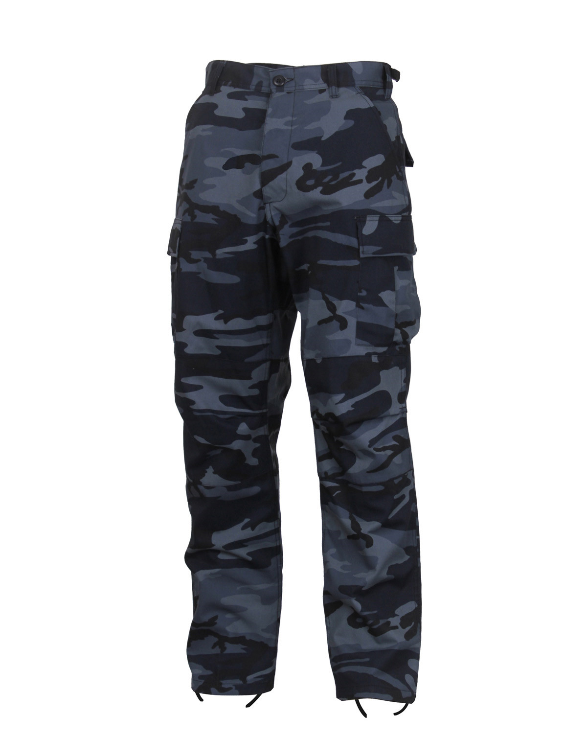 "Rothco BDU Byxor (Midnight Blue Camo, Large / 35""-39"")"