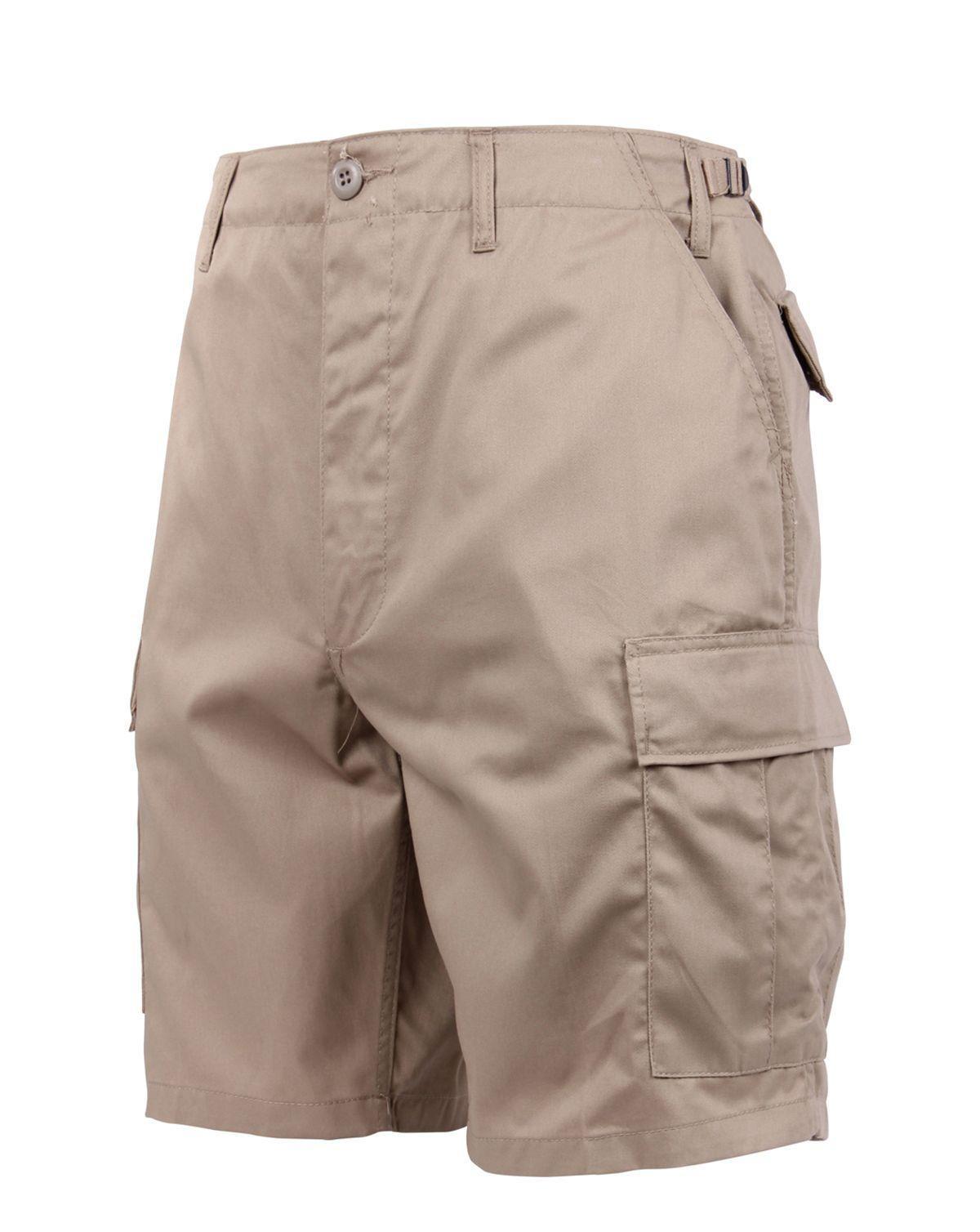 """Rothco BDU Shorts (Khaki, 3XL / 47""""-51"""")"""
