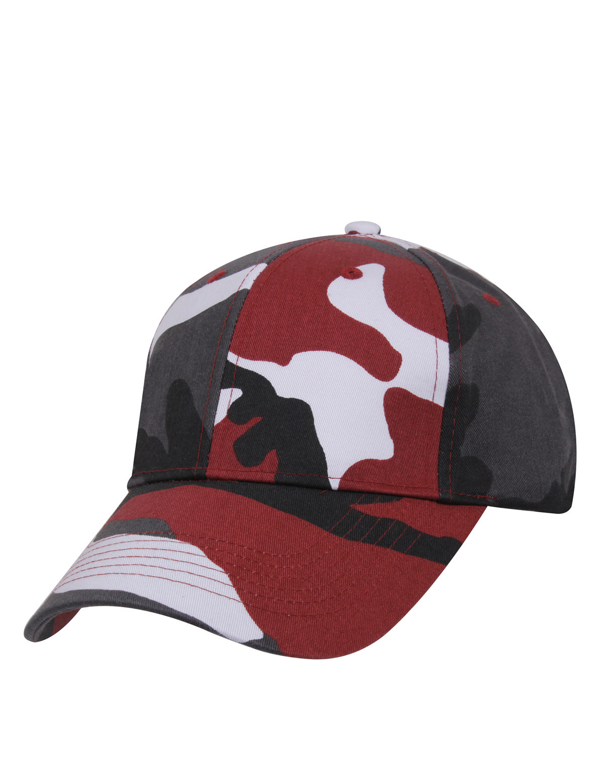 Rothco Cap (Red Camo, One Size)