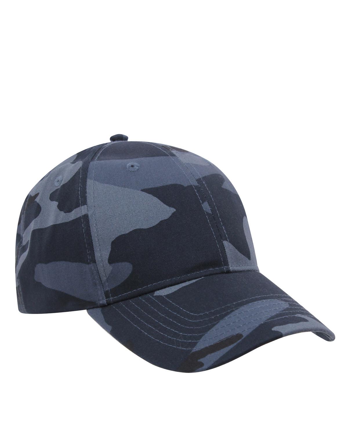 Rothco Cap (Midnight Blue Camo, One Size)