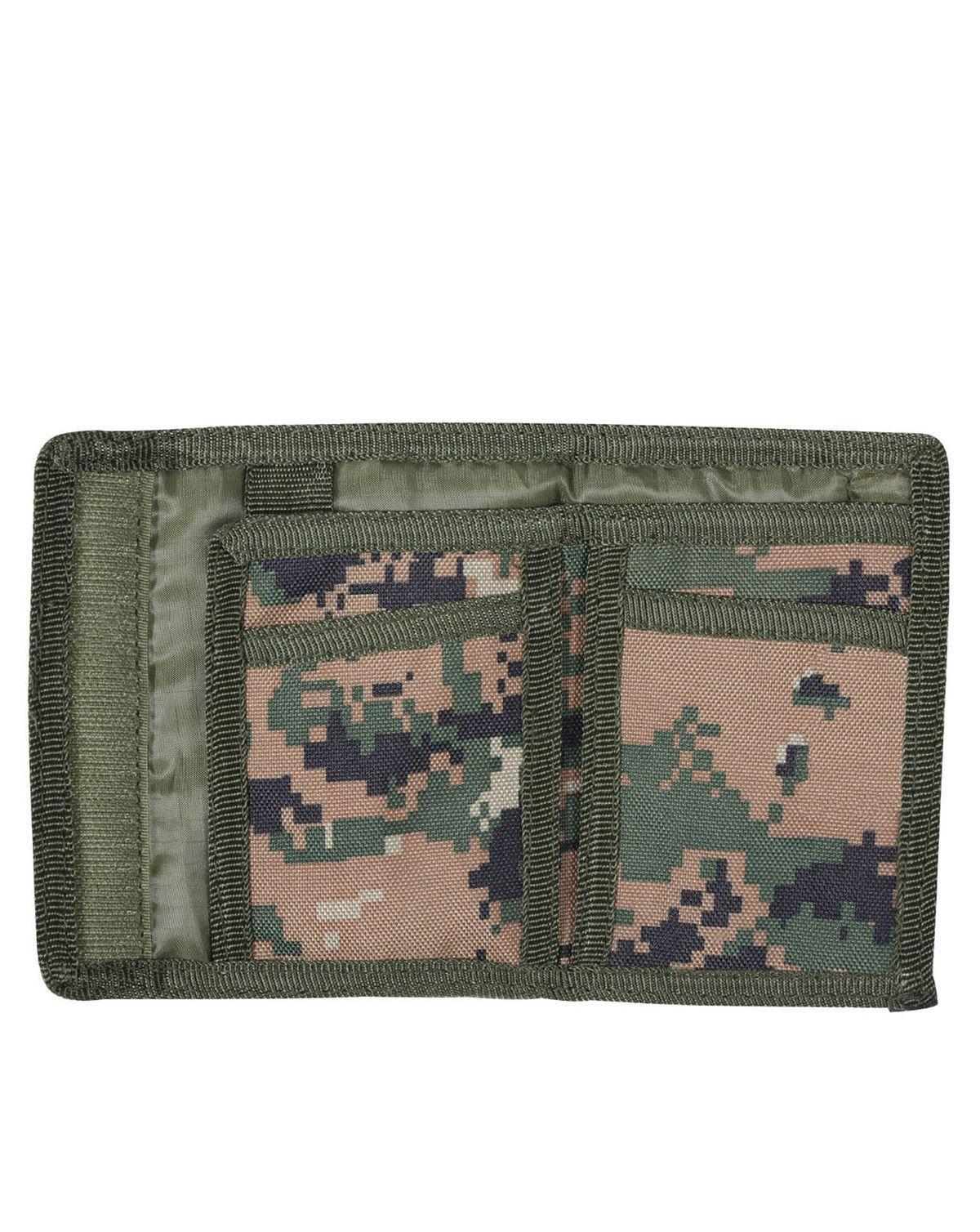 Rothco Commando Plånbok (Digital Woodland, One Size)