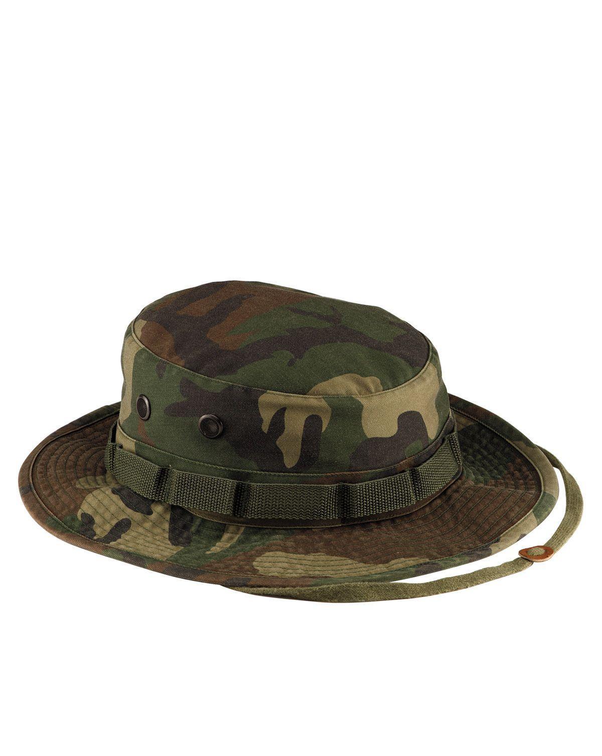 Billede af Rothco Vintage Boonie Hat (Woodland, US 7.1/4 / EU 58 cm)