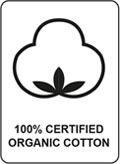 100% Organisk bomuld