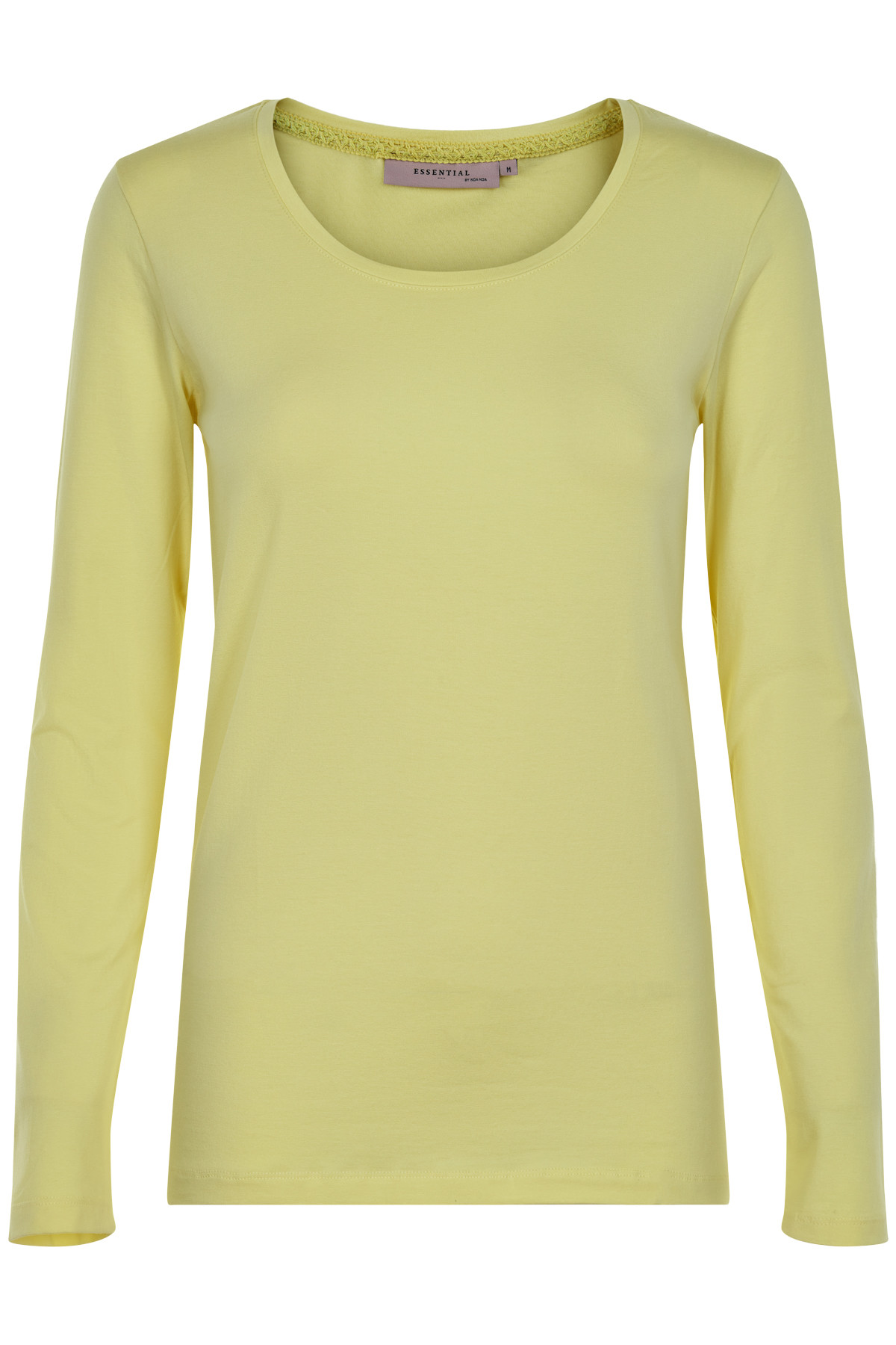 NOA NOA T-SHIRT 1-5270-19 01053 (Yellow, L)