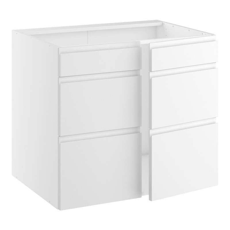 Image of   Bredt vaskeskab med 2 låger