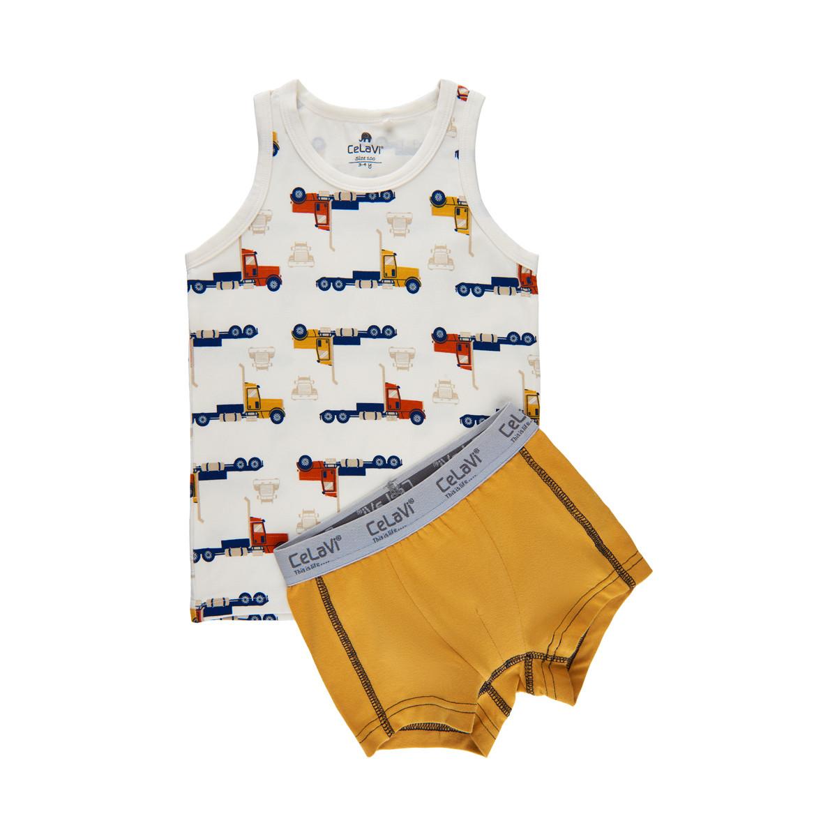 Celavi Baby Leggings with Print Toddler Underwear Set