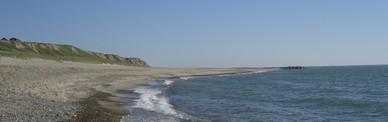 Stranden ved Bovbjerg.
