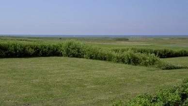 Store panoramapladser med udsigt over Vesterhavet.