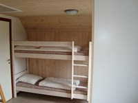 Bunk bed downstairs in cottage type 2